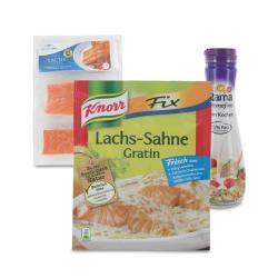 Set: Knorr Fix Lachs-Sahne Gratin  - 2145300001710