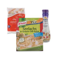 Set: Knorr Fix Seelachs in Kr�uter-Dill-Rahm  - 2145300001723