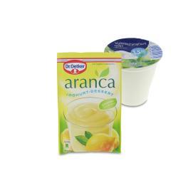 Set: Dr. Oetker Aranca Joghurt-Dessert Zitronengeschmack  - 2145300001765