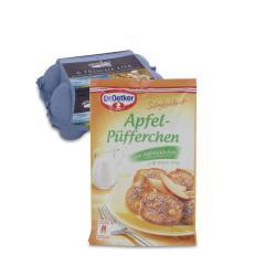 Set: Dr. Oetker S��e Mahlzeit Apfel-P�fferchen  - 2145300001983