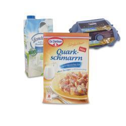 Set: Dr. Oetker Süße Mahlzeit Quarkschmarrn  - 2145300002058