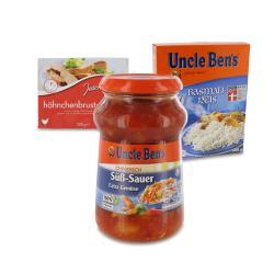 Set: Uncle Ben's Sauce Chinesisch S��-Sauer  - 2145300002234