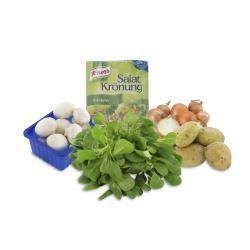 Set: Feldsalat mit Bratkartoffeln und Pilzen  - 2145300003817