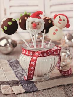 Set: Weihnachts-Cake Pops  - 2145300005884
