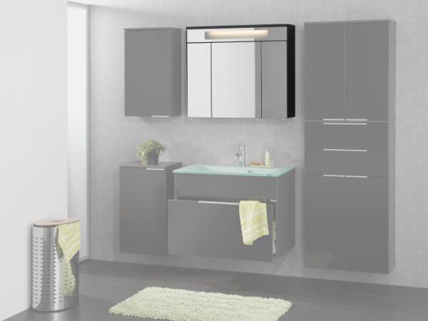 Fackelmann kara 80 spiegelschrank 80940 spiegel badezimmer - Fackelmann badezimmer ...
