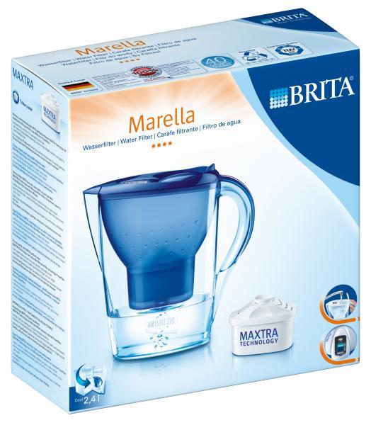 brita marella cool tischwasserfilter blau 1 kartusche online bestellen bei. Black Bedroom Furniture Sets. Home Design Ideas
