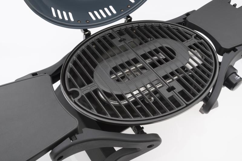 landmann portabler gasgrill edelstahl 12058 grill tischgrill ebay. Black Bedroom Furniture Sets. Home Design Ideas