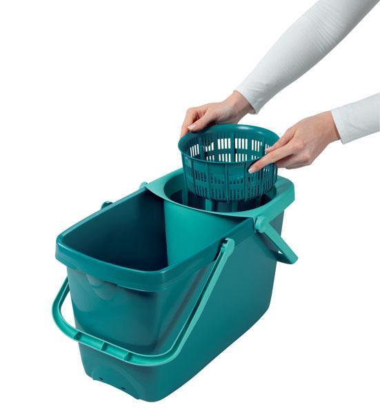 leifheit wischmop 52019 clean twist mop bodenwischer ebay. Black Bedroom Furniture Sets. Home Design Ideas