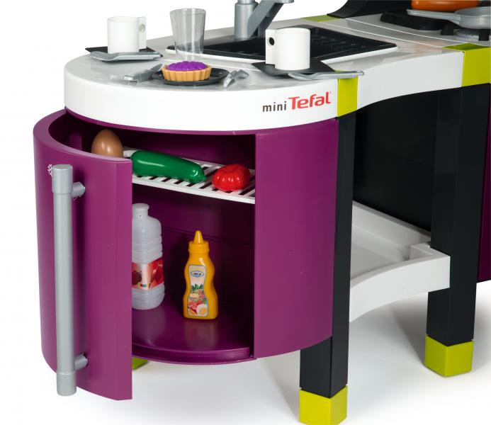 Smoby tefal french touch k che 24133 ebay - Cuisine tefal french touch ...