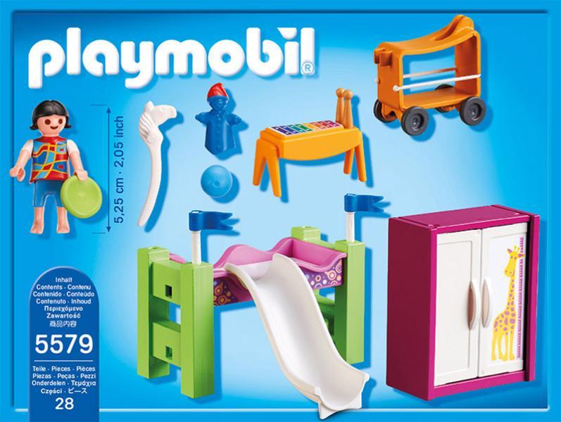 Playmobil city life kinderzimmer mit hochbett rutsche 5579 online