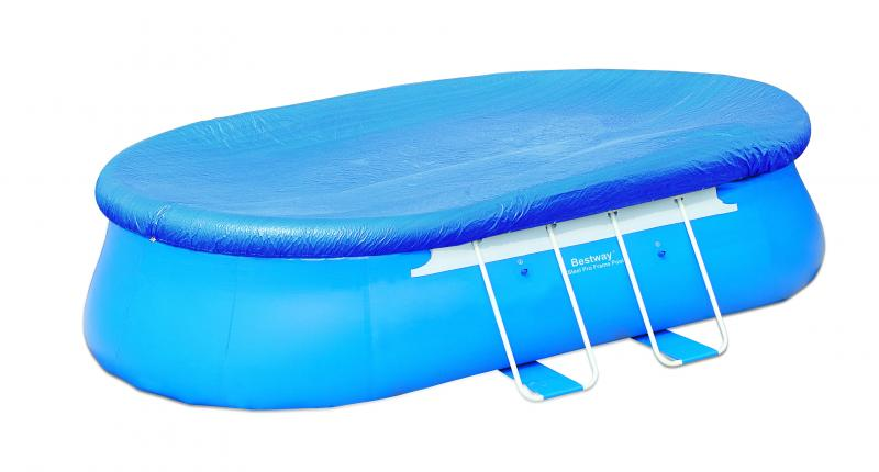 Bestway oval fast set pool 549x366x122 cm 56153nl 02 for Gartenpool 366