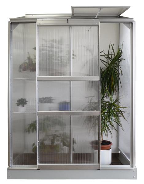 vitavia anlehngew chshaus ida 900 hkp 4 mm 0 90 m alu ebay. Black Bedroom Furniture Sets. Home Design Ideas