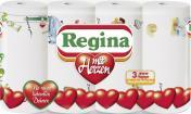 Regina Küchenrollen mit Herzen  <nobr>(4 x 45 Blatt)</nobr> - 8004260423618