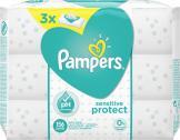 Pampers Sensitive Feuchttücher  <nobr>(3 x 56 St.)</nobr> - 4015400552529