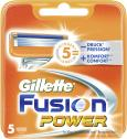 Gillette Fusion Power Klingen  <nobr>(5 St.)</nobr> - 7702018383450