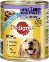 Pedigree Pastete mit Herz, Leber & Pansen  <nobr>(800 g)</nobr> - 4008429056048