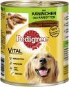 Pedigree Saftiges Geschnetzeltes mit Kaninchen & Karotten  <nobr>(800 g)</nobr> - 3065890114630