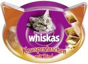 Whiskas Knuspertaschen mit Rind  <nobr>(60 g)</nobr> - 5998749108574