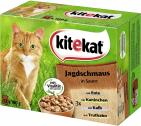 Kitekat Jagdschmaus in Sauce  <nobr>(12 x 100 g)</nobr> - 4008429011269