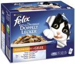 Felix So gut wie es aussieht mit Rind, Geflügel, Lamm, Kalb, Truthahn, Leber, Huhn & Niere  <nobr>(12 x 100 g)</nobr> - 7613033048531