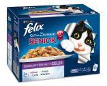 Felix Senior So gut wie es aussieht Rind, Huhn, Lachs und Sardine  <nobr>(12 x 100 g)</nobr> - 7613033498060