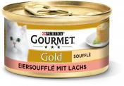 Gourmet Gold Eiersoufflé mit Lachs  <nobr>(85 g)</nobr> - 7613033628689