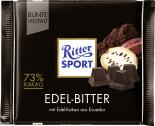 Ritter Sport Bunte Vielfalt Edel-Bitter  <nobr>(100 g)</nobr> - 4000417260000