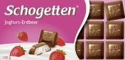 Schogetten Joghurt-Erdbeer  <nobr>(100 g)</nobr> - 4000607143007