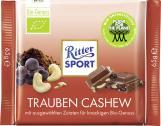 Ritter Sport Bio-Genuss Trauben Cashew  <nobr>(65 g)</nobr> - 4000417752000