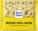 Ritter Sport Nussklasse Weisse Voll-Nuss  <nobr>(100 g)</nobr> - 4000417701008