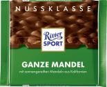 Ritter Sport Nussklasse Ganze Mandel  <nobr>(100 g)</nobr> - 4000417703002