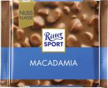Ritter Sport Nussklasse Macadamia  <nobr>(100 g)</nobr> - 4000417705006