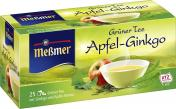 Meßmer Grüner Tee Apfel-Ginkgo  <nobr>(25 x 1,75 g)</nobr> - 4002221004320