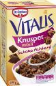 Dr. Oetker Vitalis Knusper Schoko feinherb  <nobr>(600 g)</nobr> - 4000521002428