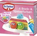Dr. Oetker 4 Back- & Speisefarben  <nobr>(40 g)</nobr> - 4000521006464