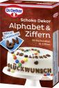 Dr. Oetker Schoko Dekor Alphabet & Ziffern Milchschokolade  <nobr>(58 g)</nobr> - 4000521006709