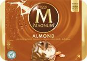 Magnum Mandel Familienpackung Eis  <nobr>(4 St.)</nobr> - 8000920570609