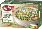 Iglo Rahm-Gem�se Erbsen & Karotten  <nobr>(480 g)</nobr> - 4250241201285