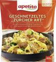 Apetito Geschnetzeltes Zürcher Art  <nobr>(500 g)</nobr> - 4006624070715