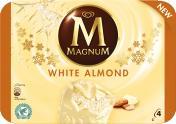Magnum Mandel Weiss Eis  <nobr>(4 St.)</nobr> - 8712100818714