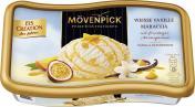 Mövenpick Eis Weiße Vanille Maracuja  <nobr>(850 ml)</nobr> - 7613035414112