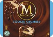 Magnum Cookie Crumble Eis  <nobr>(4 St.)</nobr> - 8710908901638