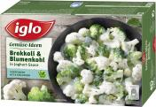 Iglo Gemüse-Ideen Brokkoli & Blumenkohl in Joghurt-Sauce  <nobr>(400 g)</nobr> - 4250241207201