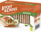 Leicht & Cross Mein Knusperbrot kr�ftiger Roggen  <nobr>(125 g)</nobr> - 4008404001018