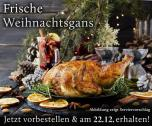 Frische deutsche Gans vom Geflügelhof Meyer - Lieferung nur am 23.12.2016  <nobr>(4,50 kg)</nobr> - 2000423625208
