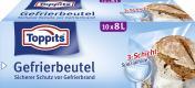 Toppits Gefrierbeutel 8 Liter  <nobr>(10 St.)</nobr> - 4