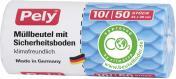 Pely Comfort-Müllbeutel für Kosmetikeimer 10 Liter  (50 St.) - 4007519087023