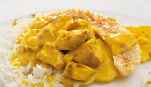 Curry-Hähnchen-Ragout