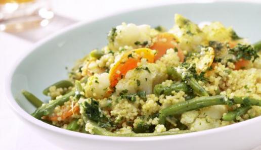Gemüsecurry mit Hirse
