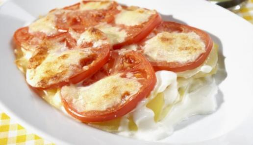Kartoffel-Gratin Tomate